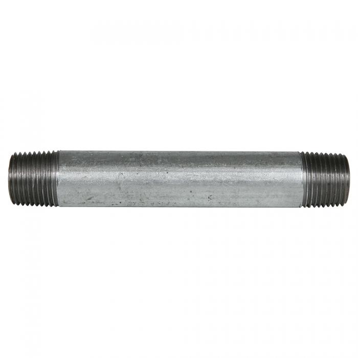 Galvanized Pipe Nipple - 1/2 x 5 inches
