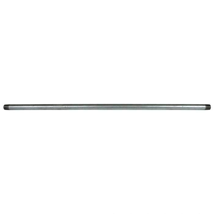 Galvanized Pipe Nipple - 1/2 x 30 inches