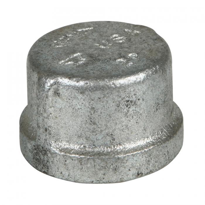 3/4 inch Galvanized Cap - View 1