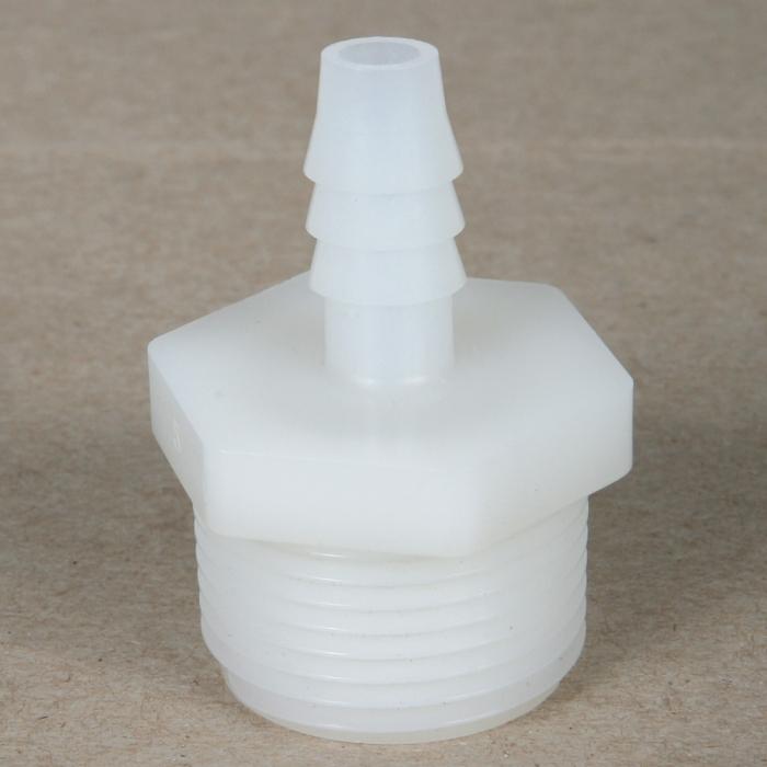 Male Thread x Hose Barb - Nylon Fitting - 3/4 inch MPT X 3/8 inch