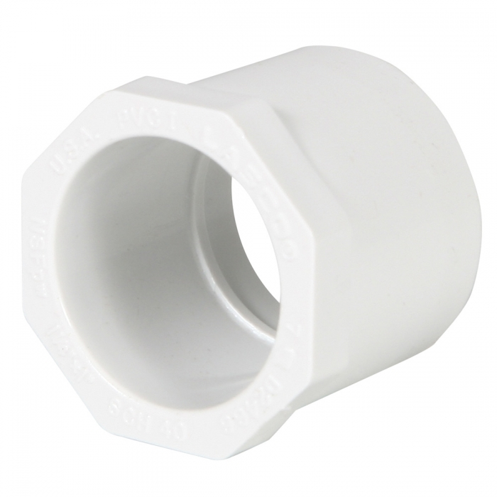 PVC Reducer Bushing (Spigot x Slip) - 1 1/4'' x 1'' - View 1