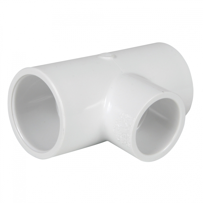 PVC Reducing Tee (Slip x Slip x Slip) - 1'' x 1'' x 3/4''