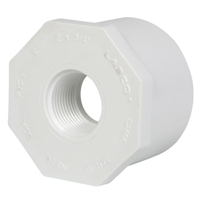 Reducer Bushing - 2 inch x 3/4 inch (Spigot x FIP) - View 1