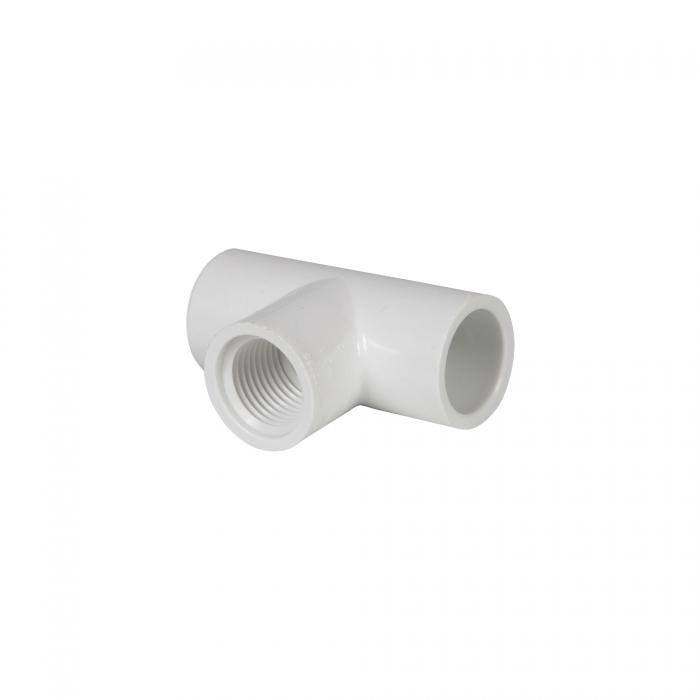 PVC Female Tee (Slip x Slip x FIP) - 1/2