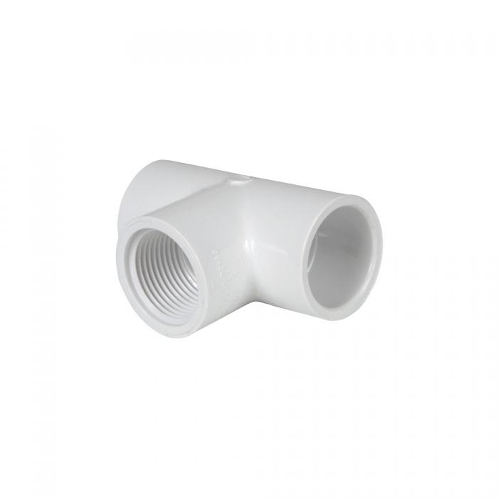 PVC Female Tee (Slip x Slip x FIP) - 1