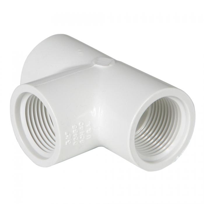 PVC Tee (FxFxF) - 3/4