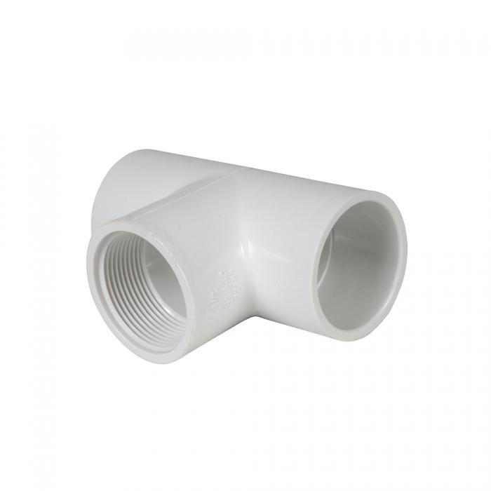 PVC Female Tee (Slip x Slip x FIP) - 1 1/2
