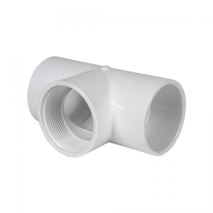PVC Female Tee (Slip x Slip x FIP) - 2