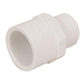 PVC Male Adapter - 1 1/4