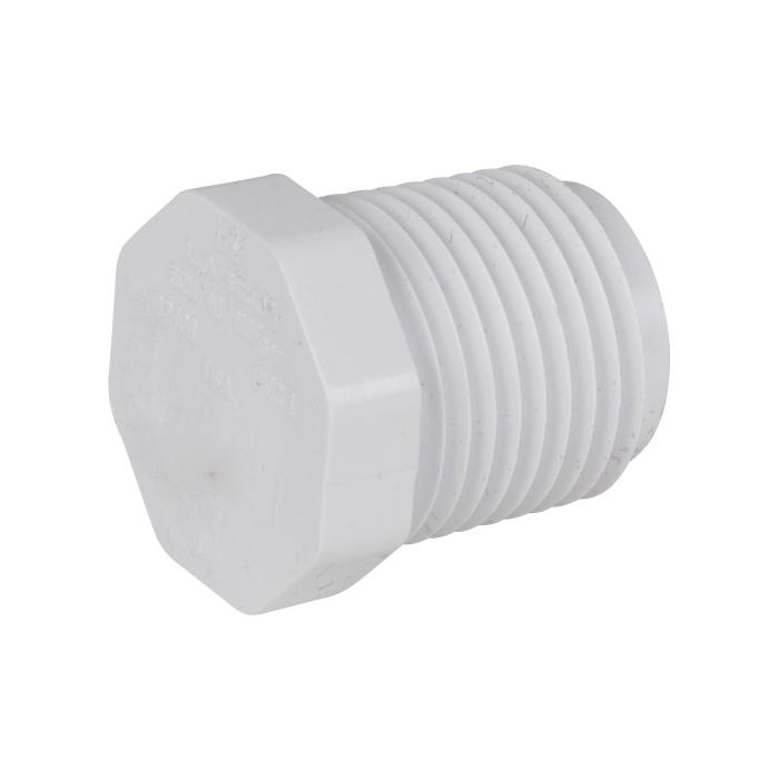 PVC Plug (MIP) - 1/2 inch - View 3