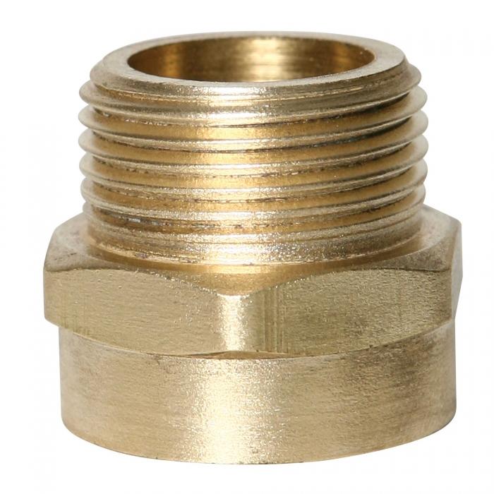 3/4'' MPT x 3/4'' FMGHT Brass Adapter