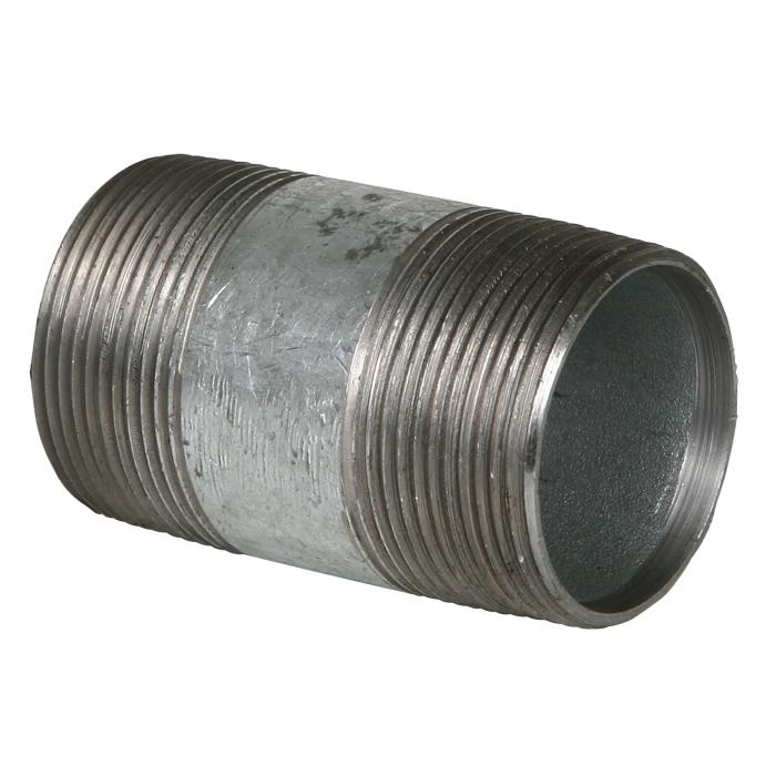 1 1/2'' x 3'' Galvanized Pipe Nipple