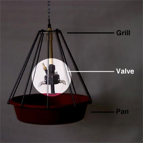 Pan and Grill Waterer - Valve Only