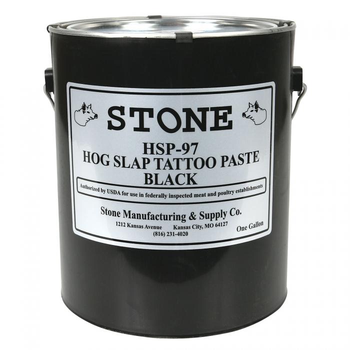 Black Tattoo Paste (Permanent) 1 Gallon