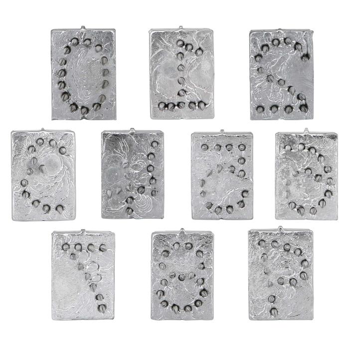 Metal Numeral Set (0-9) for Hog Slapper - View 1