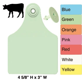 Allflex Super Maxi Beef and Dairy Ear Tag