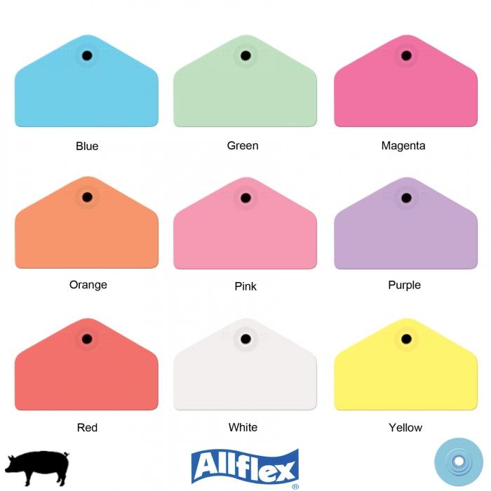 Allflex Global Hog Male Ear Tag