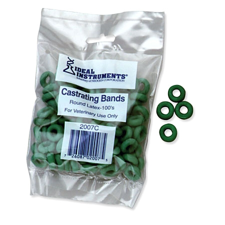 Elastrator Bands-100/Bag