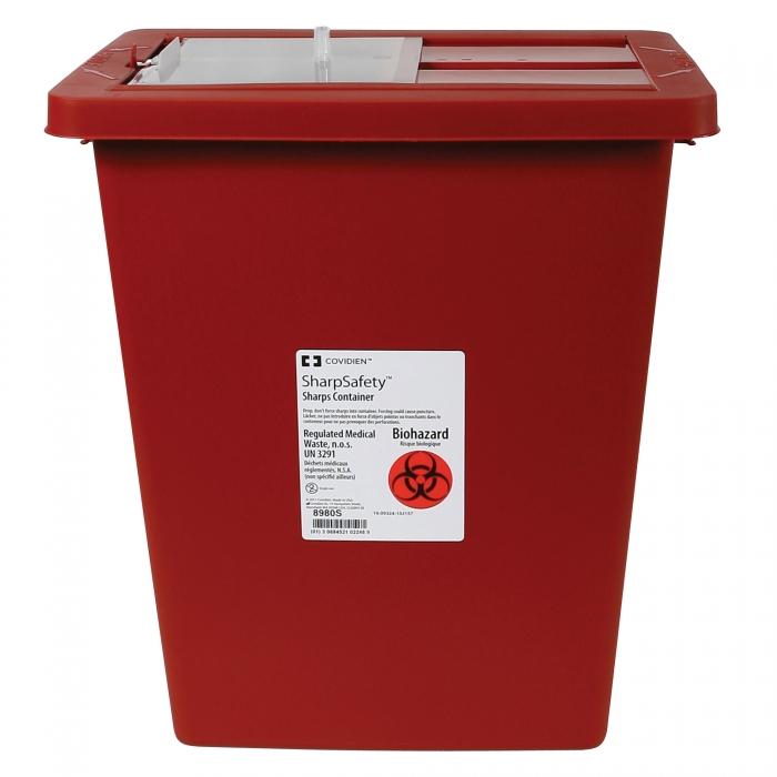 SharpSafety Biohazardous Disposable System - 8 Gallon