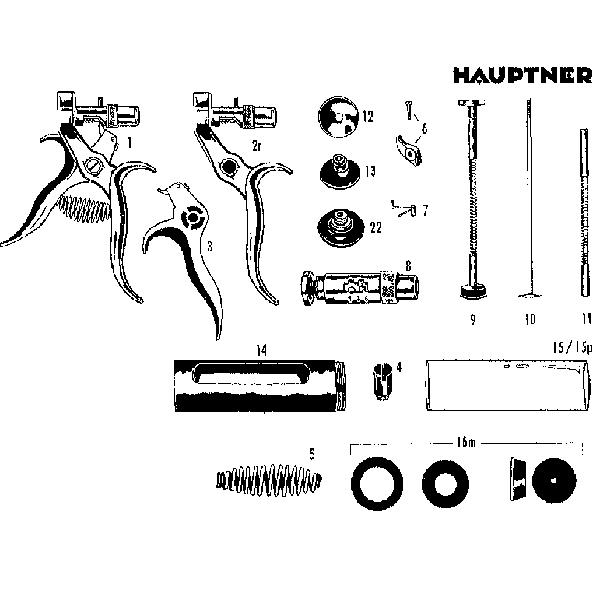 Hauptner Syringe Repair Parts