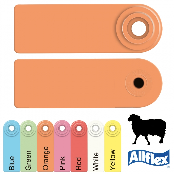 Allflex Global Sheep Male/Female Ear Tag - 25/Bag