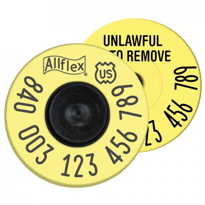 Allflex USDA FDX EID Tag - 20/package