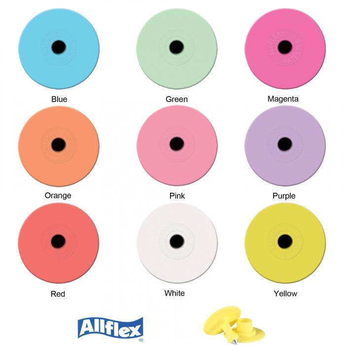 Allflex Round Button Ear Tag Set - 25/Bag