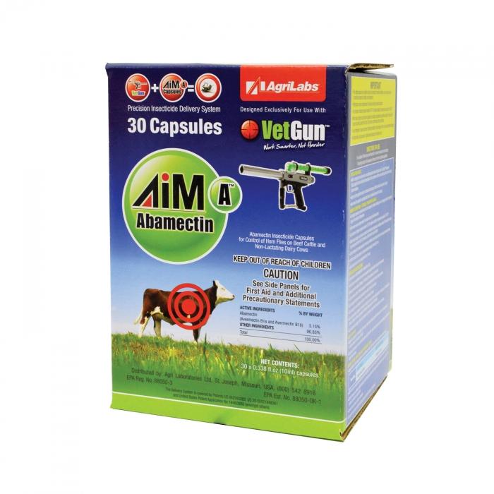 AiM-A VetCaps For VetGun System - 30 Count
