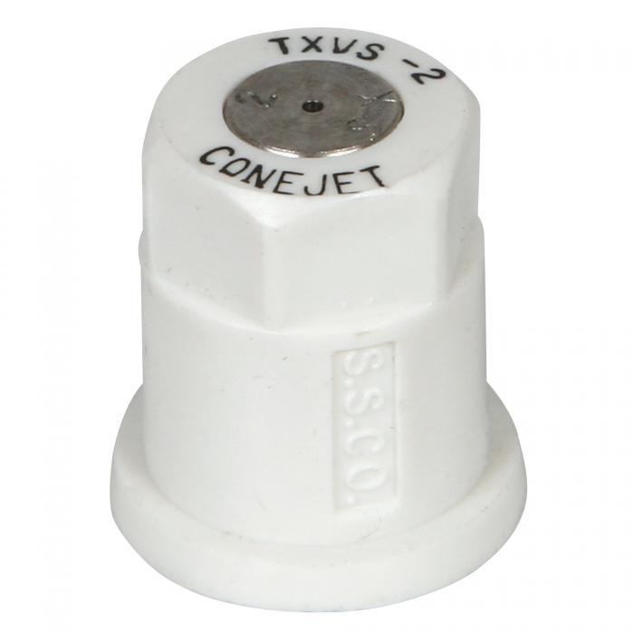 Tee-Jet Hollow Cone Spray Nozzle - White