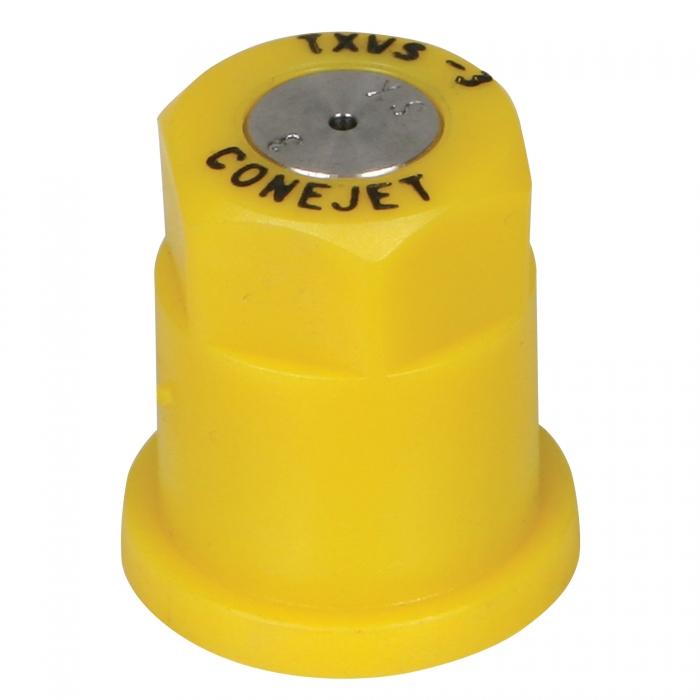 Tee-Jet Hollow Cone Spray Nozzle - Yellow