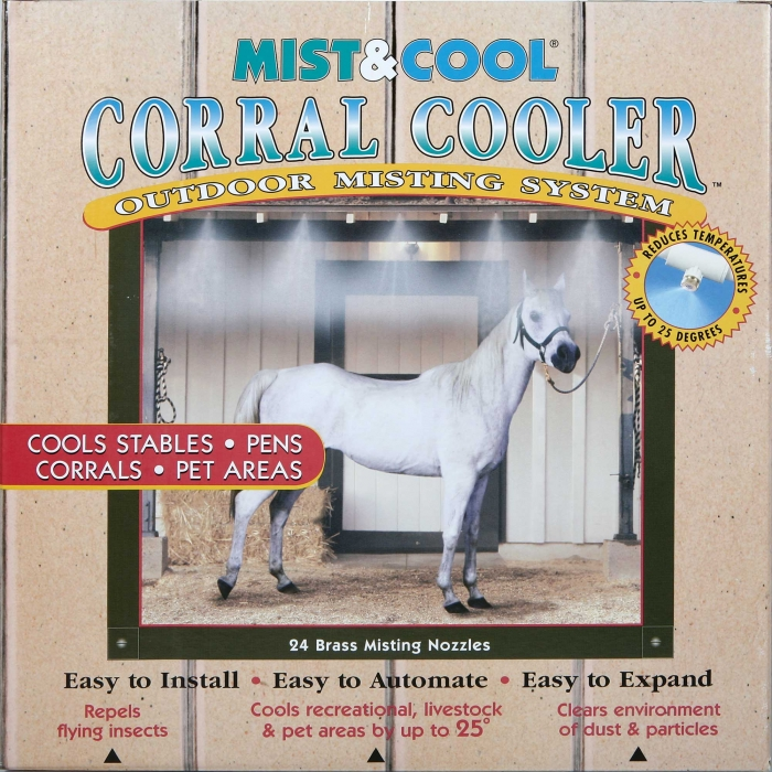 Mist and Cool 3/8'' Corral Cooler