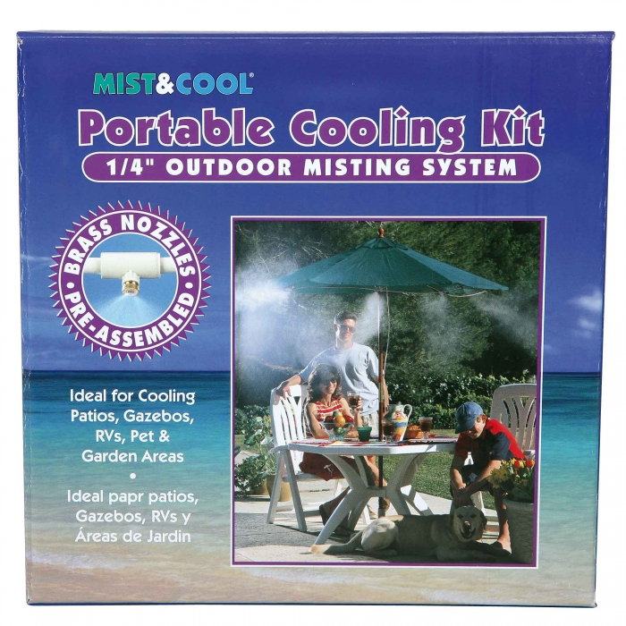 Mist and Cool 1/4 inch Portable Kit