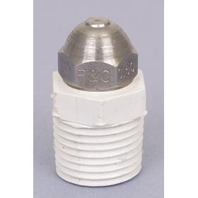 Stainless Steel Fogger Nozzle 1/2 inch MPT with Screen - 1 GPH