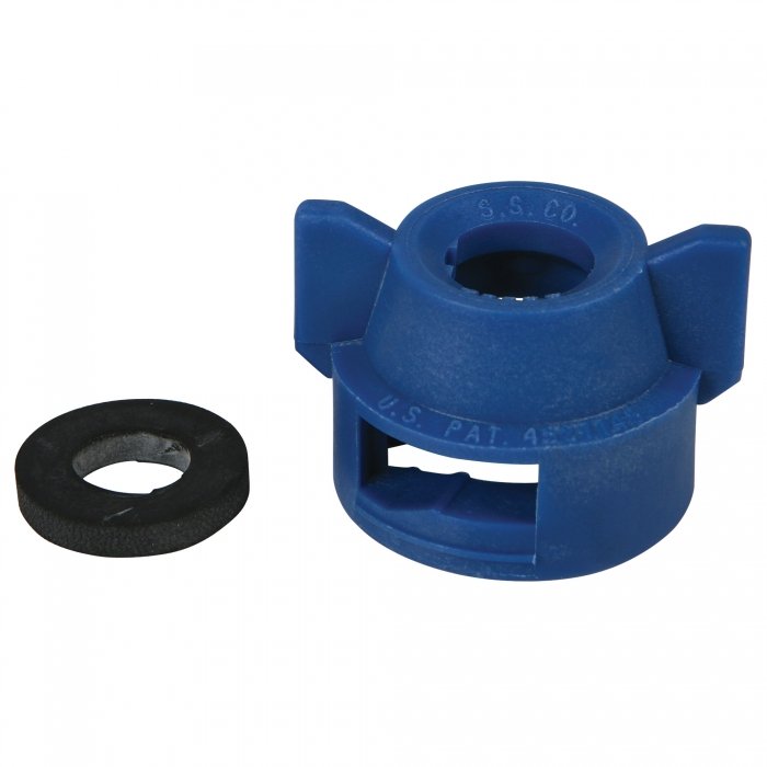Quick Attach Cap for Use with Wide Angle Nozzle