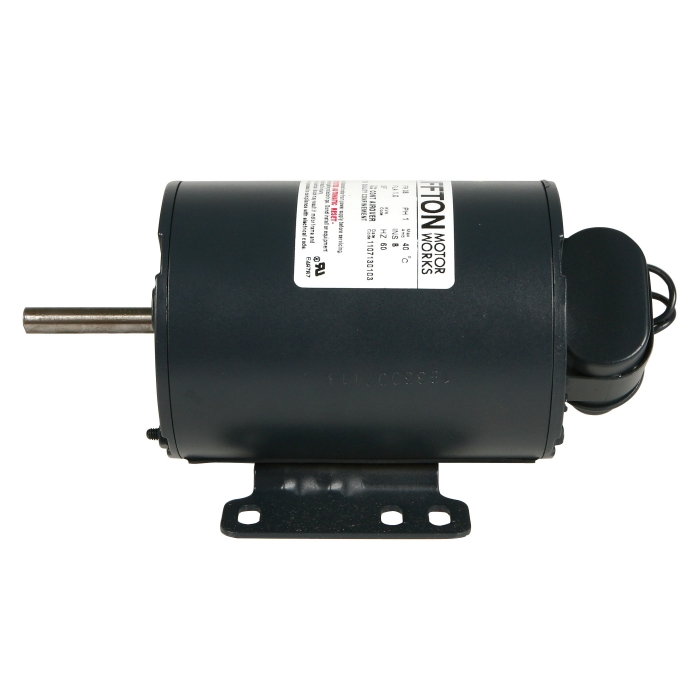 Replacement Motors for Small Fan - 1/6 HP 230V Motor - 3/8 Shaft