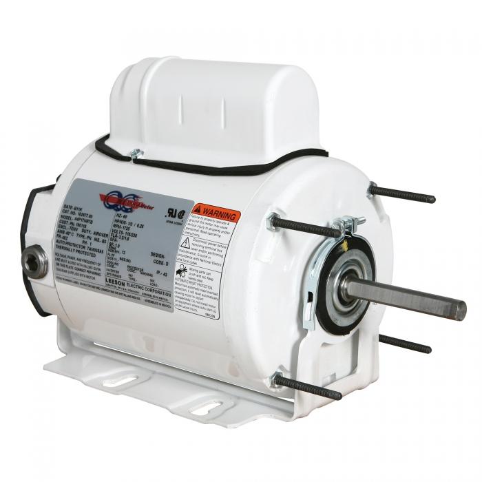 Variable Torque DuraMotor for Ventilation Fan - 1/4 HP  (56Z)