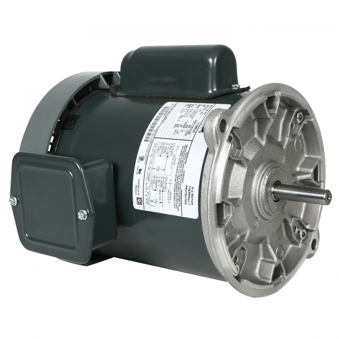 Leeson Direct Drive Feed Auger Motor - 1/3HP