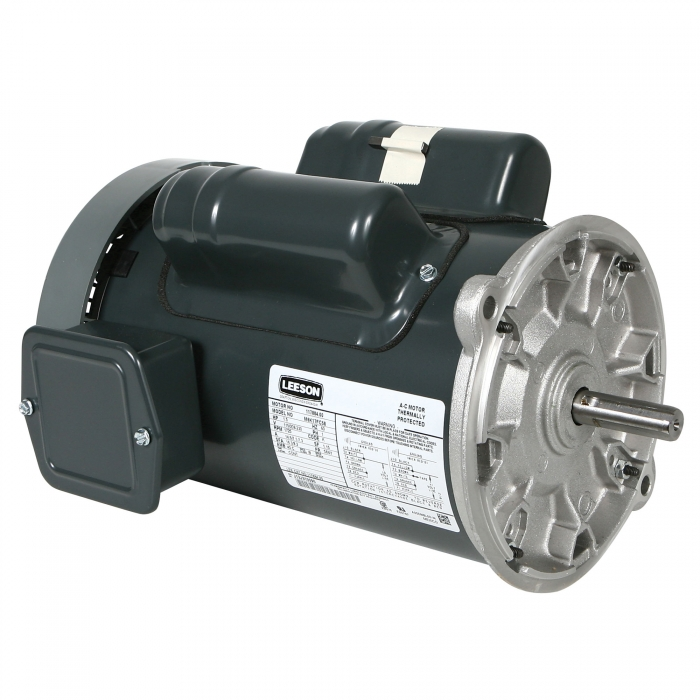 Leeson Direct Drive Feed Auger Motor - 1 1/2 HP