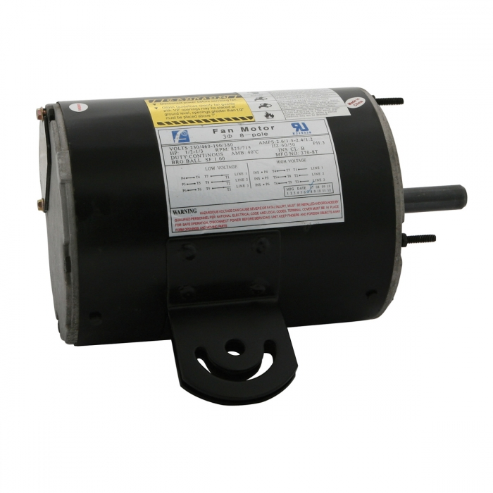 Replacement Fan Motor - 460V-3 PH