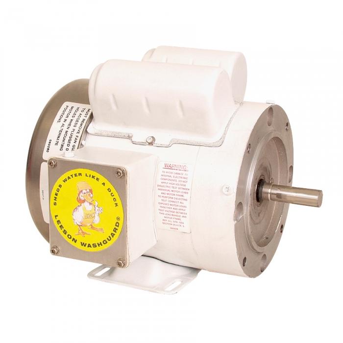 Leeson - Washguard Motor - 1 1/2 HP