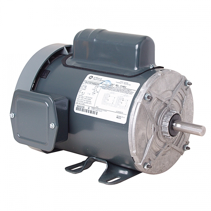 GE Farm Duty Motor with Rigid Base - 1 HP 1725 RPM