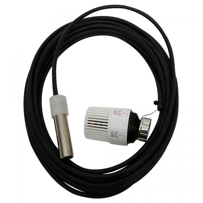 Thermostatic head w/ 25 foot Sensor for zone Control - 09416