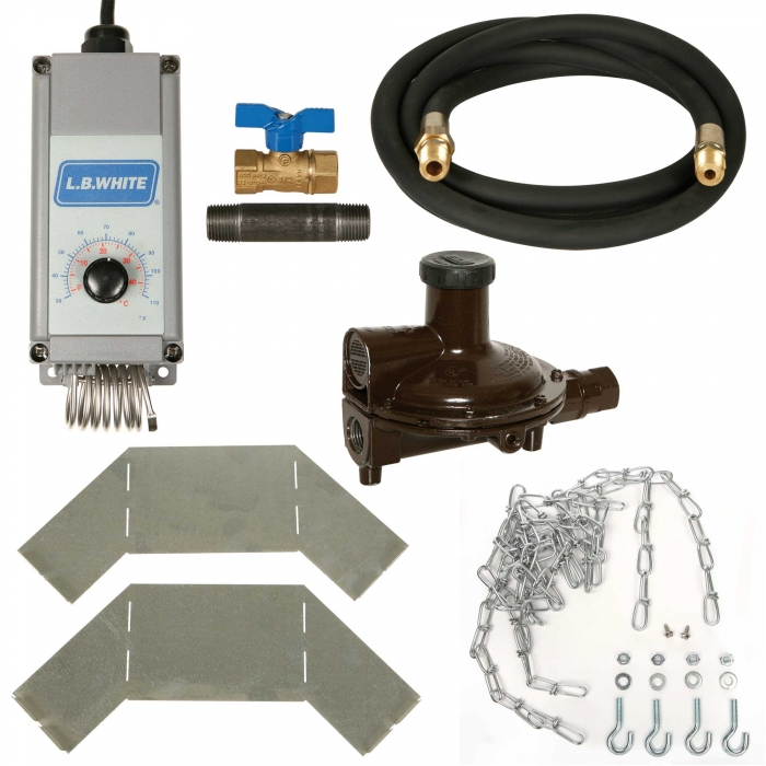 LB White Accessory Package for Guardian 50-100,000 BTU Propane Heater