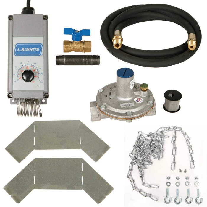LB White Accessory Package for Guardian 50-100,000 BTU Natural Gas Heater