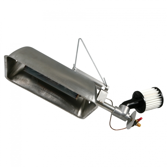 Gasolec Infrared Heater - M-8 LP w/HD Filter- 17,240 BTU