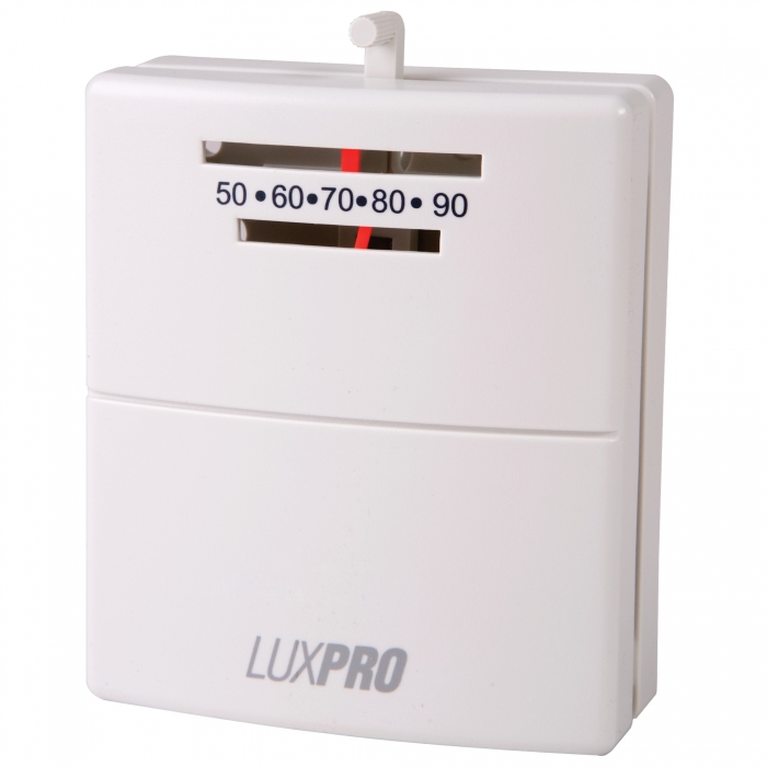 product has been saved.  LuxPro Mechanical Heat Only Thermostat