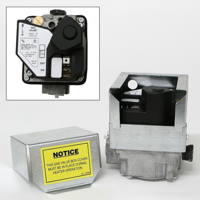 PuraFire Gas Valve - LP (C80 or C225)