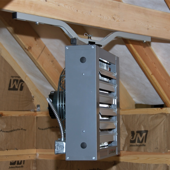 Quick-Sling Flush Heater Mount w/I-Bracket