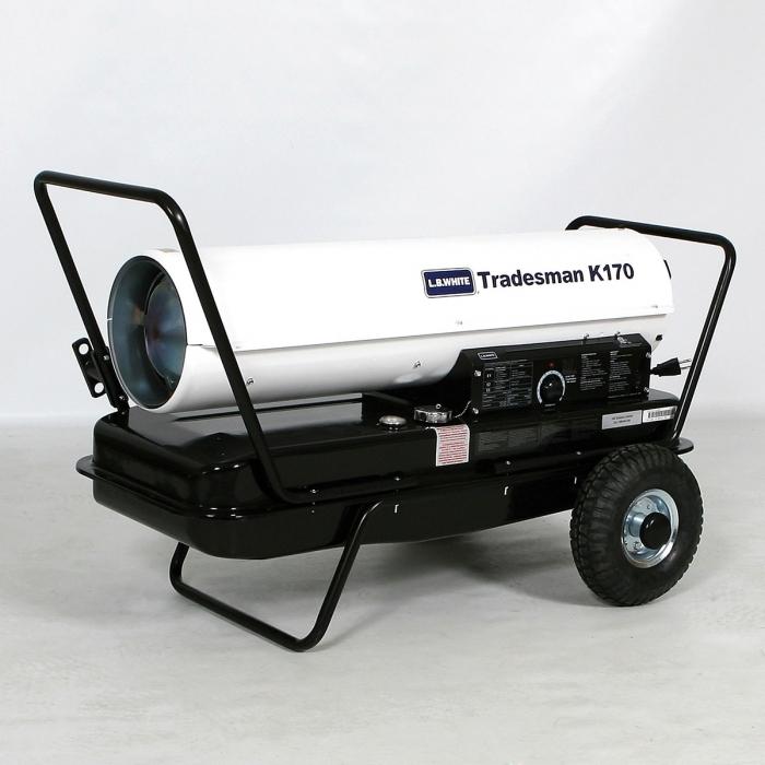 LB White Tradesman K Kerosene Heater 170,000 Btu/h