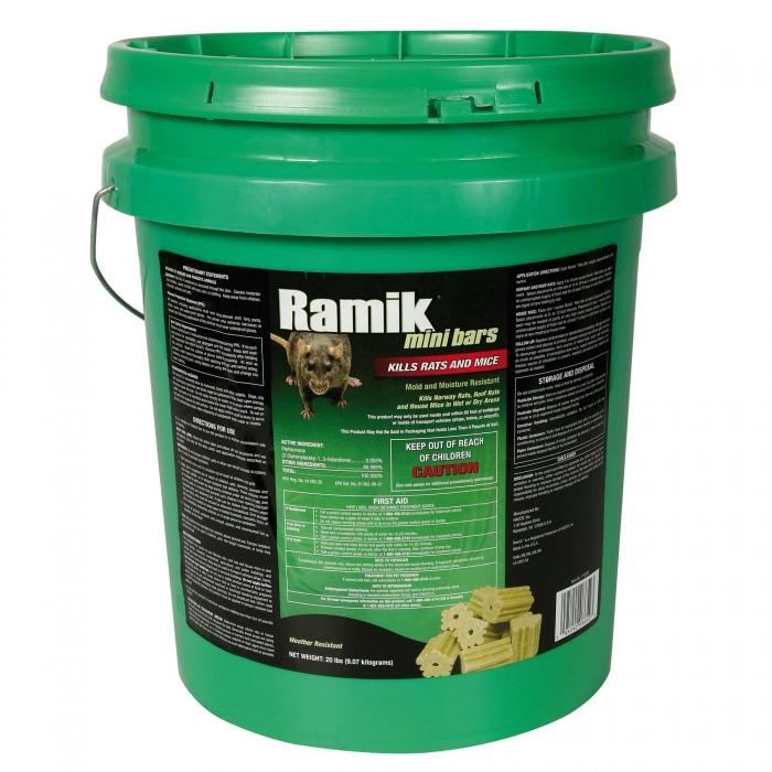 Ramik Rodenticide - Mini Bar Bucket